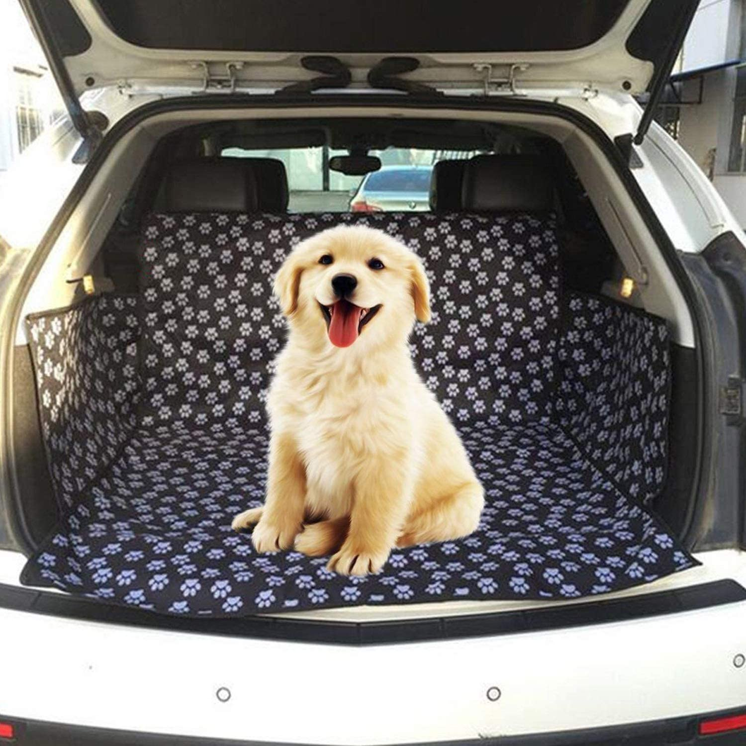 Car Boot Cover for Dogs,Protective Blanket for Cargo Liner £4.99 with £3 voucher on listing @ Amazon