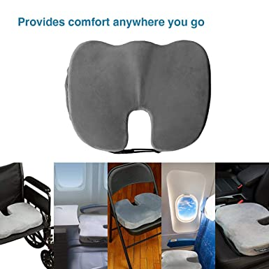 Amazon.com: Yokaro - Cojín ortopédico para asiento de coche ...