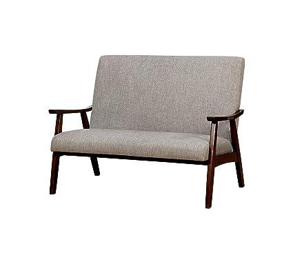 Amazon.com: Furniture of America CM-BN1246LG Classic Wooden ...