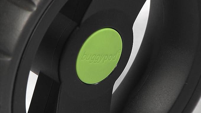 Buggypod IO - Asiento adicional, color negro