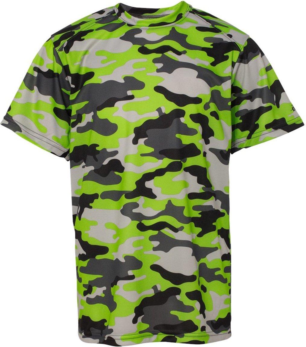 5159c04e Badger 2181 Camo Youth Short Sleeve T-Shirt: Amazon.com.au: Fashion