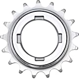 """CyclingDeal 16 17 or 18 Teeth Single Speed Bike Bicycle Compatible with Shimano Type Freewheel Cassette 1/2"""" x1/8"""" or 1/2"""" x3"""