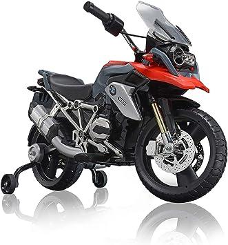 Rollplay Premium Moto Electrique A Partir De 3 Ans Jusqu A 35 Kg Batterie 12 Volts Jusqu A 4 Km H Bmw 1200 Motorcycle Rouge Amazon Fr Jeux Et Jouets