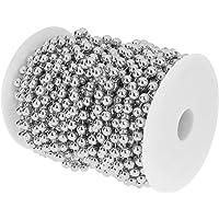 8mm Perlas Artificial Cuerda Aplique Bobina Nupcias DIY