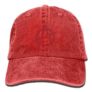 Caps big Gorra de béisbol de la Moda de la Bandera del anarquista ...