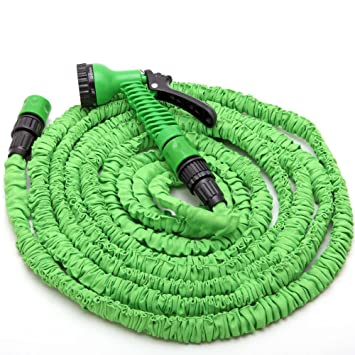 Garden Watering Expanding Garden Water Hose Pipe 50-200FT 3 Times Expanding Flexible Magic