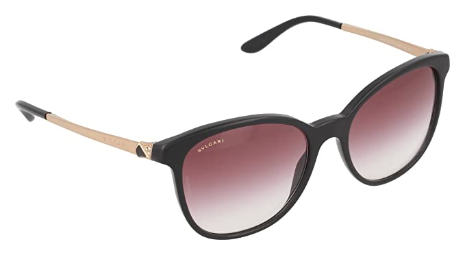Bulgari 8160 Gafas de Sol, Black, 54 Unisex-Adulto: Amazon ...
