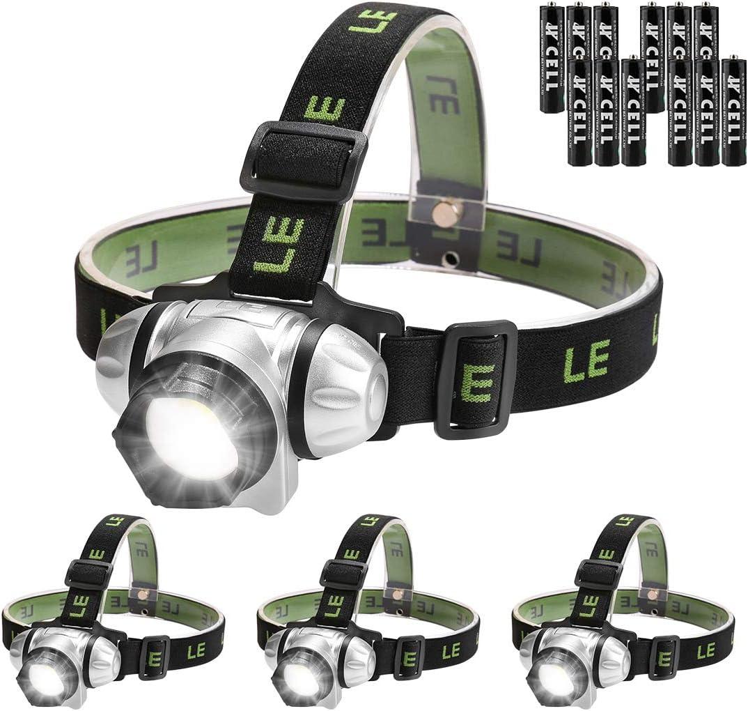 753C Red Light Head Torch Lamp Headlamp Headlight Sporting Goods Camping