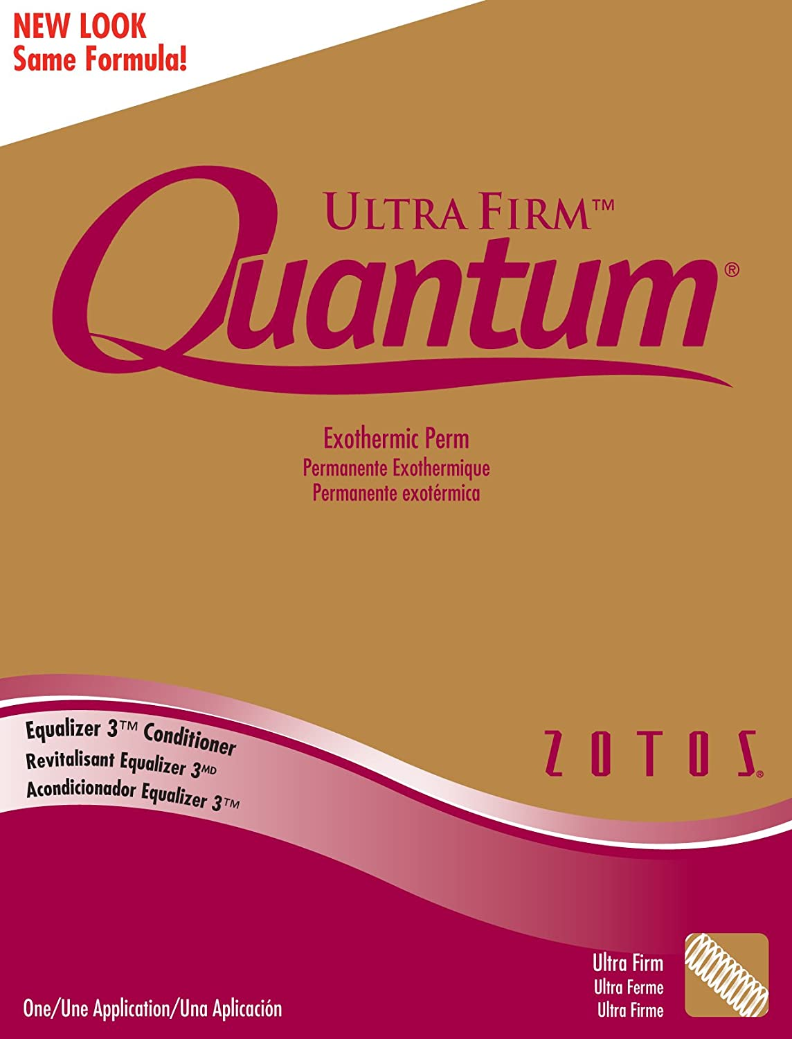 Quantum Perm Kit - Ultra Firm Gold (Pack of 6)