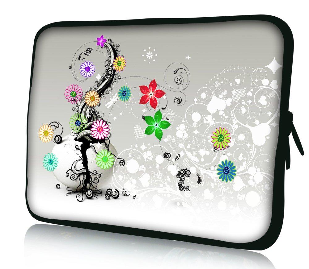 1 Poliestere QCWN acquerello fiore tenda doccia colorata natura paesaggio floreale bagno Decor Garden scene decorazione con free ganci 65x70
