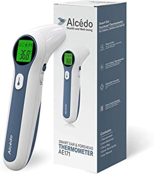 Alcedo Digital Forehead and Ear Thermometer