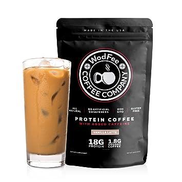 Amazon WodFee Protein Coffee