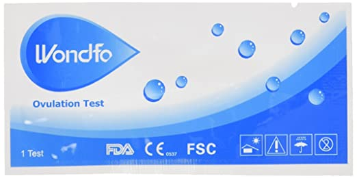 Wondfo One Step Ovulation (LH) Test Strips, 50-Count