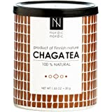NordicNordic Chaga Mushroom Tea, Powerful Antioxidant, Natural, Vegan, Paleo, 20 Bleach-Free Tea Bags (Unflavored)