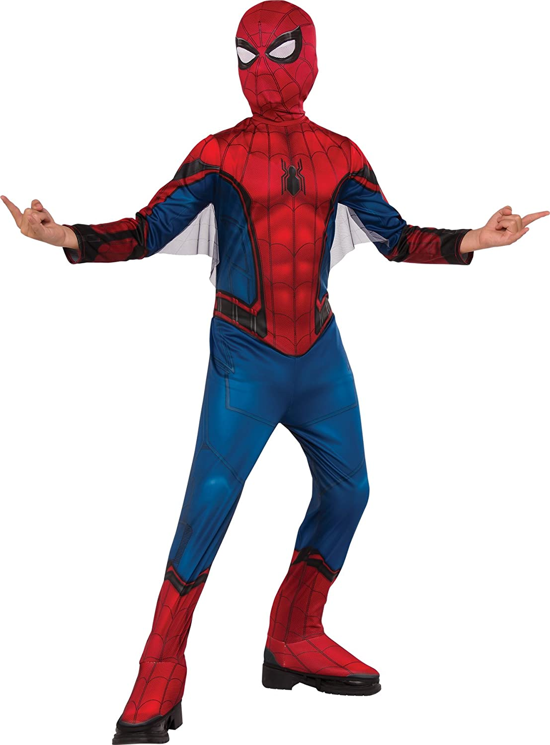 Amazon.com: UHC Boys Spiderman Outfit Movie Theme Child Fancy Dress Halloween Costume: Clothing