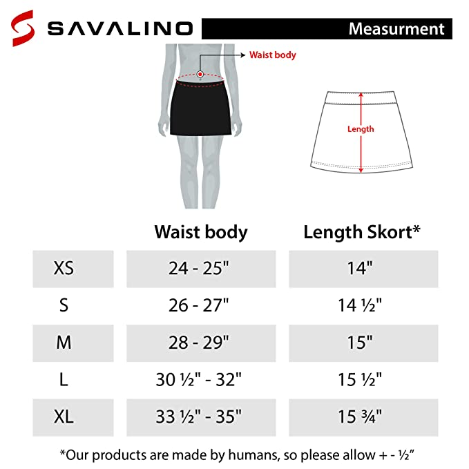 Amazon.com: SAVALINO falda de tenis para mujer con ...
