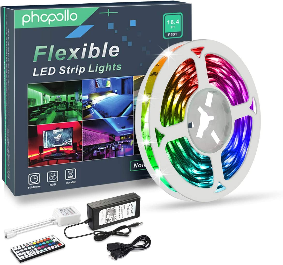 PHOPOLLO LED Strip Lights