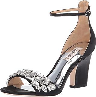 2ffa637501f Amazon.com  Badgley Mischka Women s Finesse Heeled Sandal  Shoes