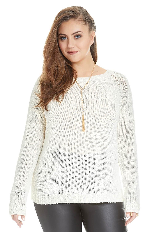 Women's Plus Size Seraphine Sequin Sweater
