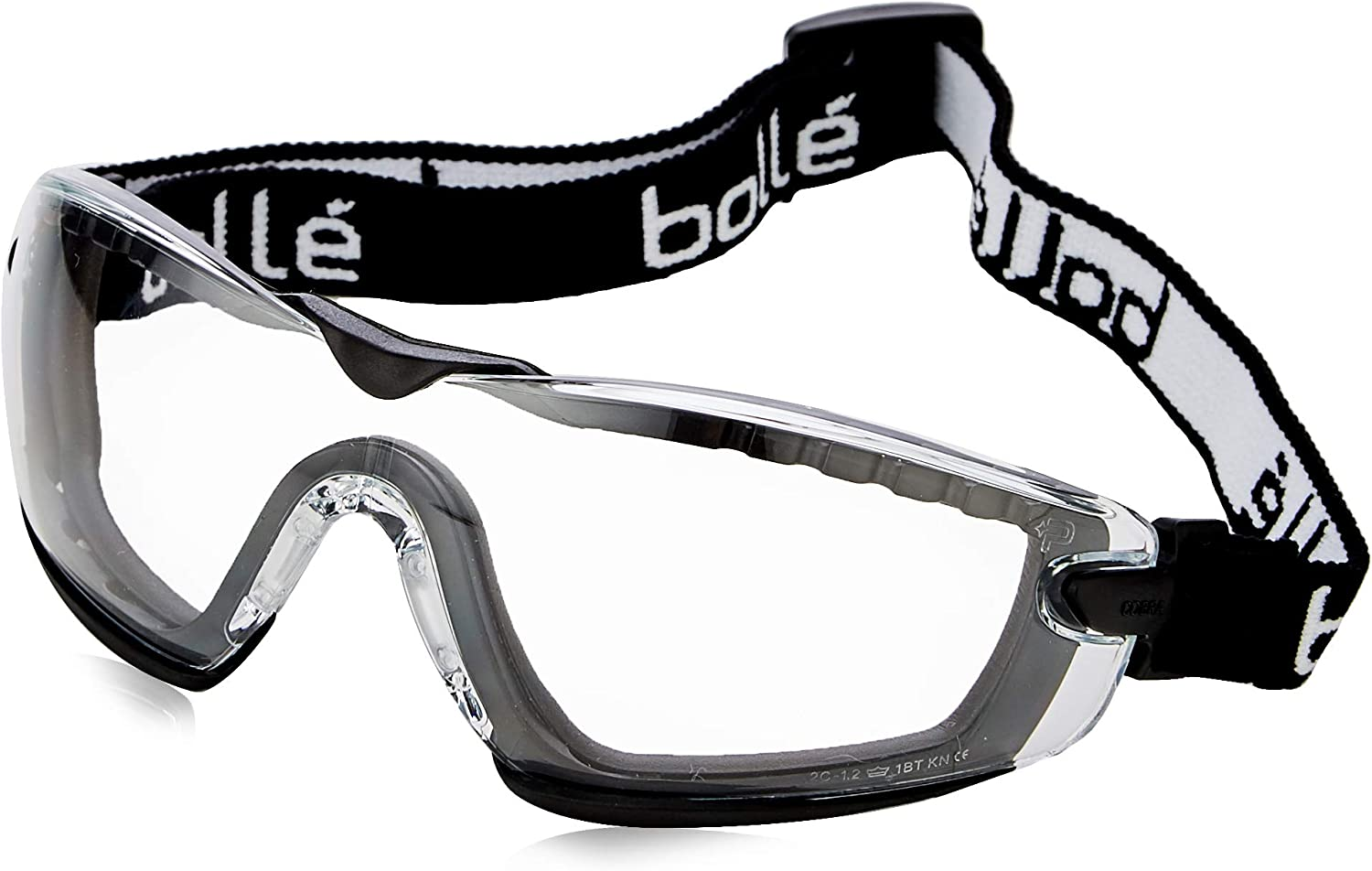 Boll – Cobra Foam – Safety Glasses Goggles With Clear Lens And Foam Surround
