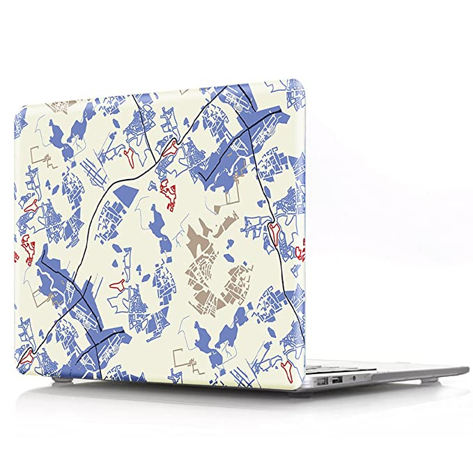 Mac Book Pro 15 Inch Case 2016 Release A1707, Papy Hall Mac Book Left And Right Brain Print Pattern Plastic Hard Case For Mac Book Pro 15 Inch With Touch Bar/Touch Id Model: A1707   Brain 7 by Papy Hall