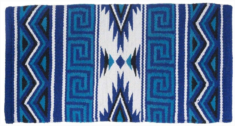 Tough-1 Mayan Navajo Wool Saddle Blanket Red