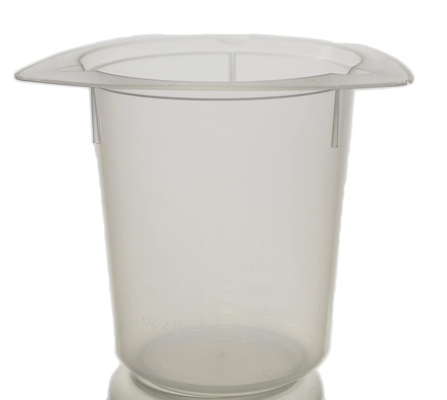 Tri-Corner Beaker, PP, 1000 ml, Reusable, Autoclavable, Pack of 10 Globe Scientific Inc.