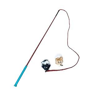 Outward Hound Tail Teaser Dog Flirt Pole Toy