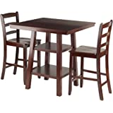 Amazon Com Winsome Mercer Double Drop Leaf Table With 2