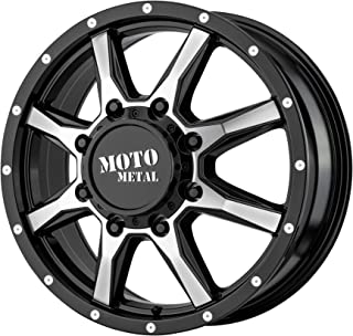 MOTO METAL MO995 GLOSS BLACK MACHINED - FRONT MO995 17x6.5 8x165.10 GLOSS BLACK MACHINED - FRONT (111 mm)