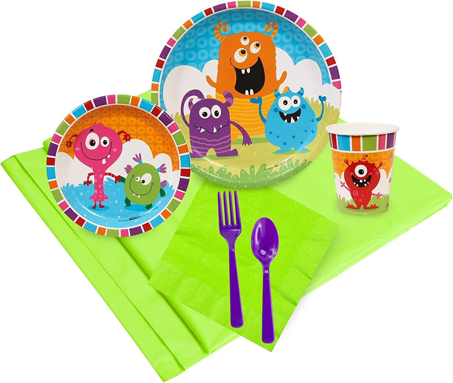 Aliens and Monsters Coordinating Party Supplies by Birthday Express