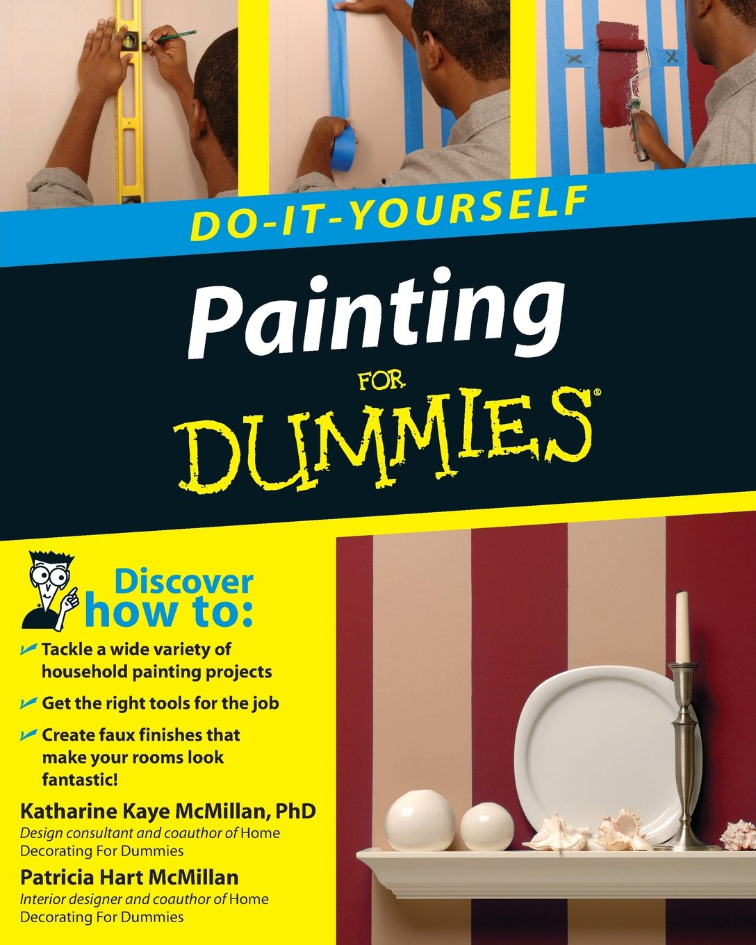 Painting do it yourself for dummies katharine kaye mcmillan painting do it yourself for dummies katharine kaye mcmillan patricia hart mcmillan 9780470175330 amazon books solutioingenieria Choice Image
