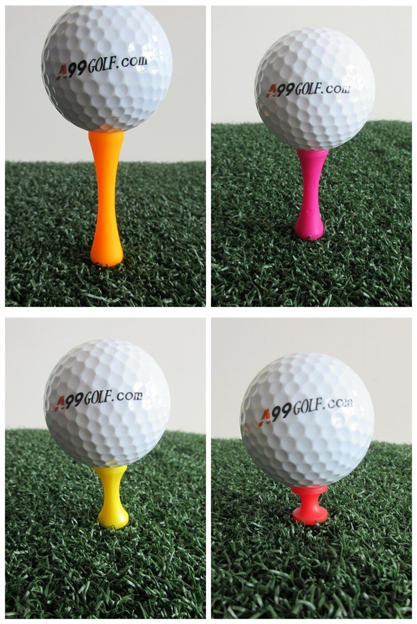 A99 Golf Step Tee III Castle Tees Step Down Tees 100pcs Mixed Color Mixed Size (4 Colors 4 Sizes) by A99 Golf (Image #1)