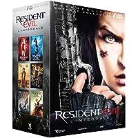 Resident Evil : L'intégrale : Resident Evil + Resident Evil : Apocalypse + Resident Evil : Extinction + Resident Evil : Afterlife + Resident Evil : Retribution + Resident Evil : Chapitre final boîtier SteelBook]