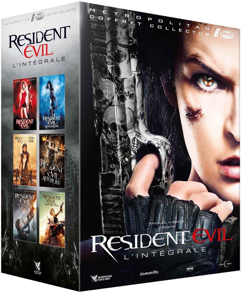 Resident Evil : Lintégrale : Resident Evil + Resident Evil : Apocalypse + Resident Evil : Extinction + Resident Evil : Afterlife + Resident Evil : Retribution + Resident Evil : Chapitre