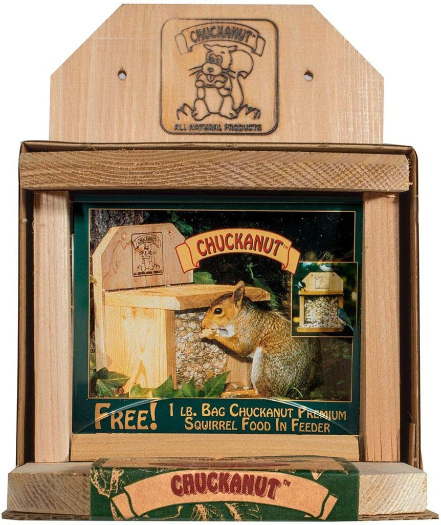 Chuckanut Products Squirrel Feeder