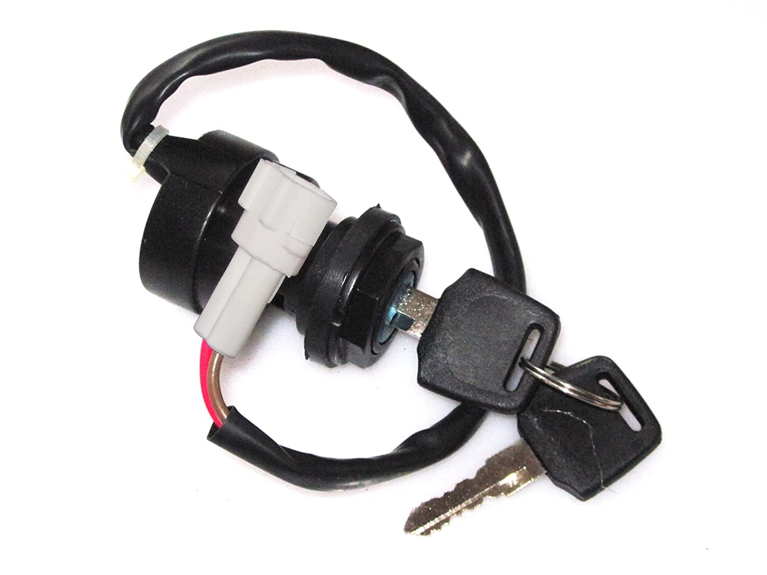71APaKhnY5L._SL1500_ amazon com 2 wire ignition key switch yamaha atv raptor warrior 2002 Yamaha Big Bear Wiring Diagram at aneh.co