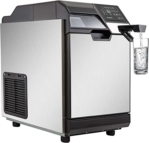 Amazon Com Vevor 2 In 1 Commercial Ice Maker With Water Dispenser 78lbs In 24 Hrs 14lbs Storage 32 Cubes In One Cycle W Scoop Perfect For Office Snack Bar 78 Lbs Appliances