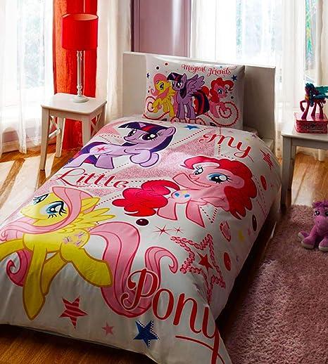 Copripiumino My Little Pony.My Little Pony Stars Singolo Trapunta Copripiumino Singolo