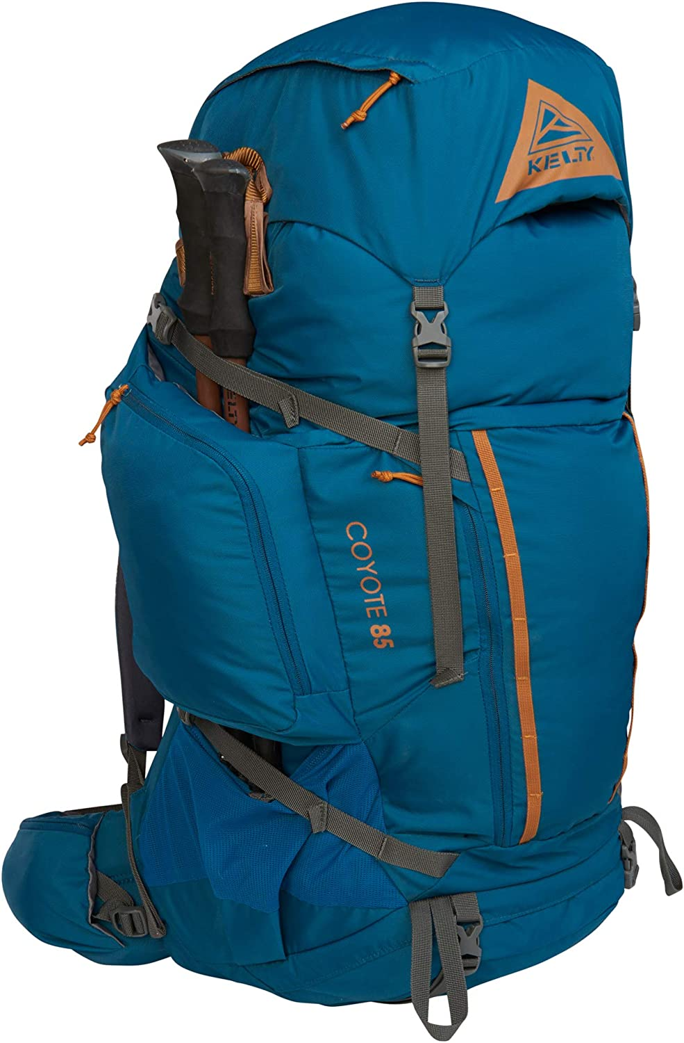 Travel Backpack Kelty Coyote 60-105 Liter Backpack - Hiking 2020 Update Mens and Womens Backpacking