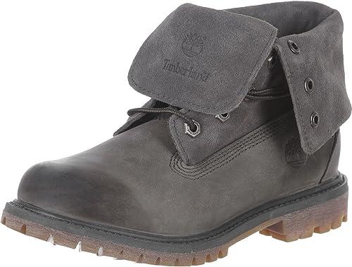 Timberland Roll Top Femme Boots Gris