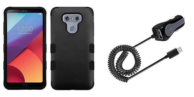 LG G6 - Set de accesorios con a prueba de golpes [Tuff serie ...