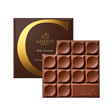 Godiva, Tableta Chocolate con Leche Mexico, 79g