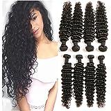 DAIMER Brazilian Hair Deep Wave Bundles