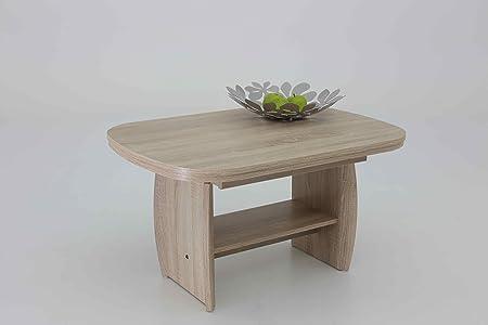Mesa de salón - Manfred - 90/142 x 68 x 52 - 62 cm, madera de ...