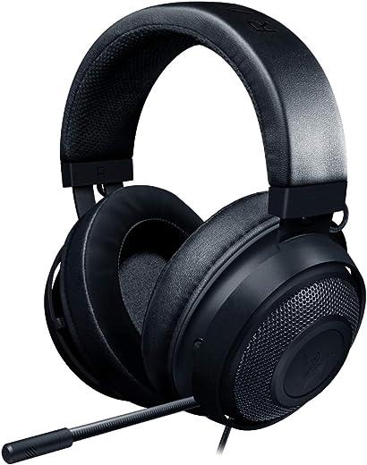 Razer Kraken Gaming Headset: Lightweight Aluminum Frame, Retractable Noise Isolating...