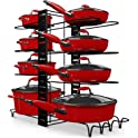 Storlux Adjustable 8+ Cookware Pot Rack Organizer