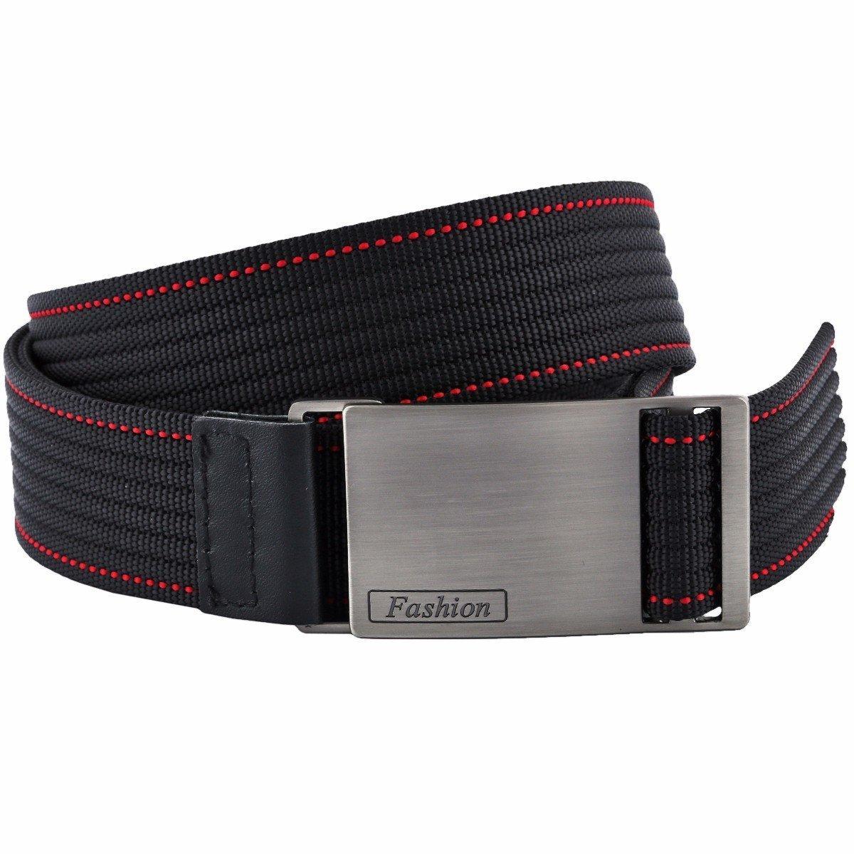 squaregarden Men's Nylon Webbing Belt Military Style Tactical Duty Belts for Men
