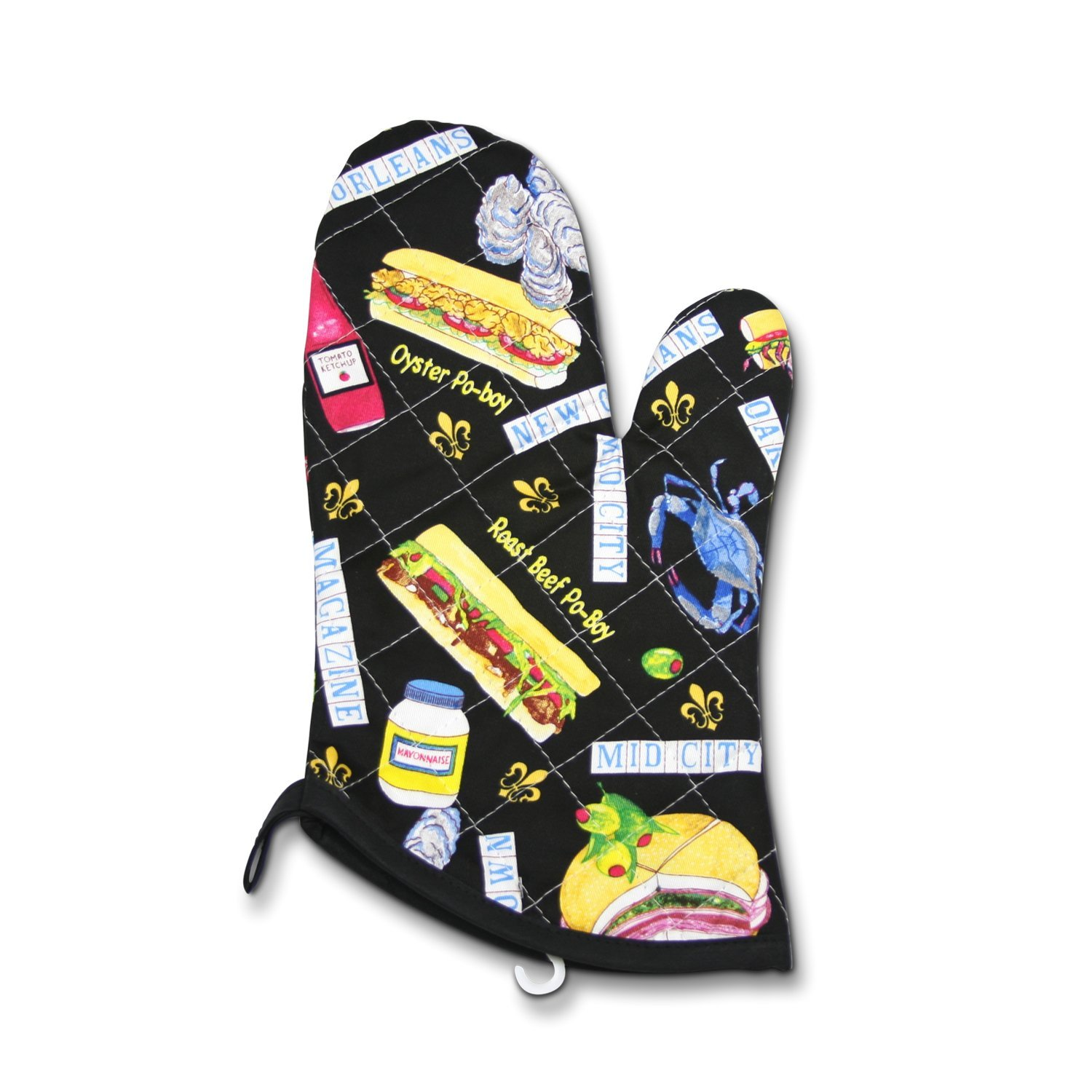Youngberg /& Co Orleans Po-Boy Oven Mitt