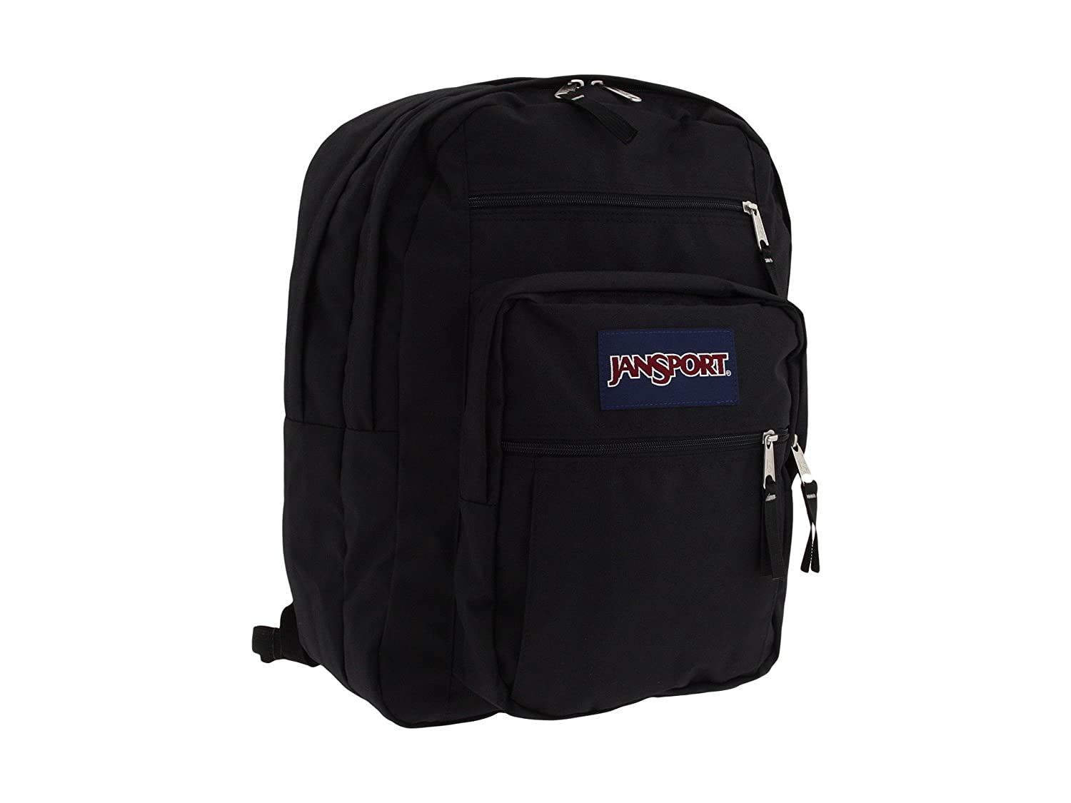 Totally Black JanSport Rucksack Big Student Asphalt wild at heart One Size
